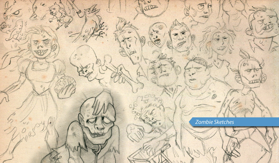 WoZ-zombie-sketches