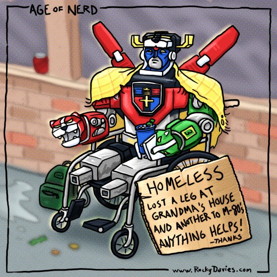 Voltron-Homeless