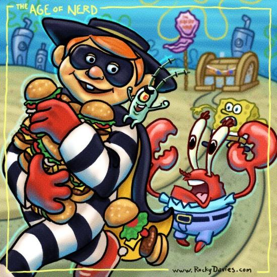 Hamburglar-Spongebob