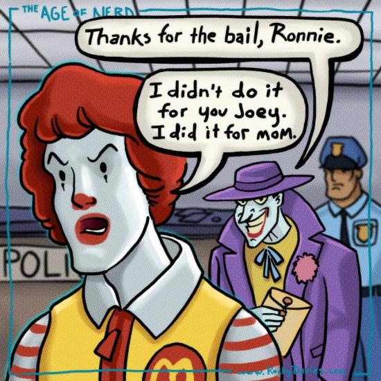 Ronald-Joker-Bail