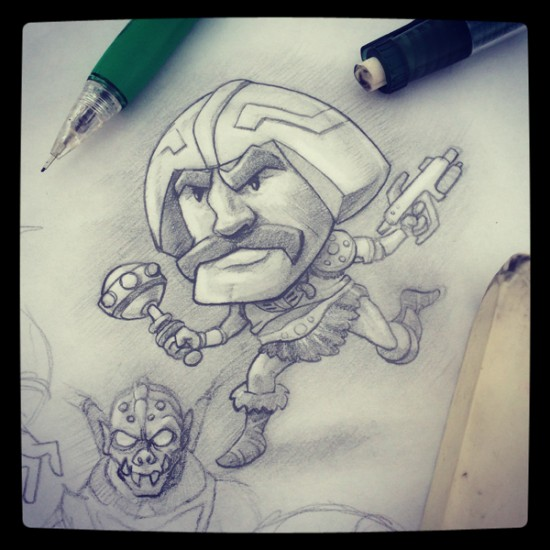 man-at-arms-sketch