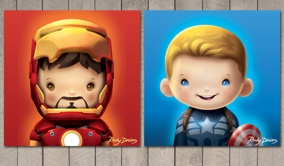 Kid-Hero-tony-steve