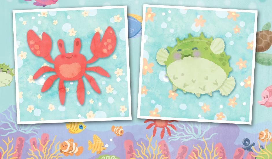 MerFri-crab-pufferfish