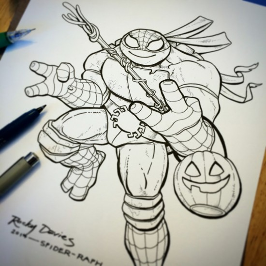 raphael-spiderman-halloween